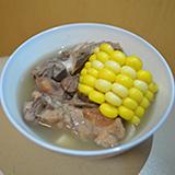 花生眉豆粟米排骨湯