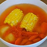 番茄薯仔紅蘿蔔粟米湯