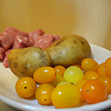 車厘茄薯仔排骨湯