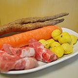 鮮淮山紅蘿蔔栗子排骨湯