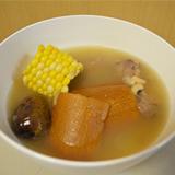 老黃瓜粟米眉豆豬展湯