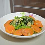 雞蛋紅蘿蔔炒莧菜