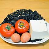 紫菜番茄豆腐蛋湯