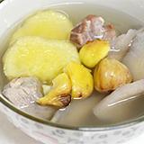 淮山栗子番薯豬肉湯