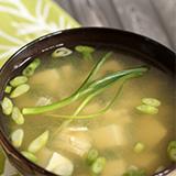 葱豉豆腐湯