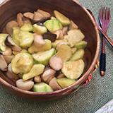 雞脾菇炒翠玉瓜