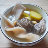 淮山冬菇番薯黃豆排骨湯