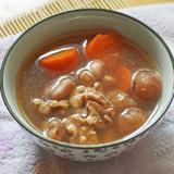 合桃花生桂圓紅蘿蔔瘦肉湯
